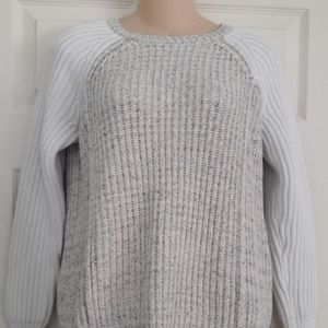 Rebecca Taylor Color-blocked Knit Sweater Sz. S